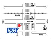 フィッシングマックス芦屋店 最寄りの駐車場