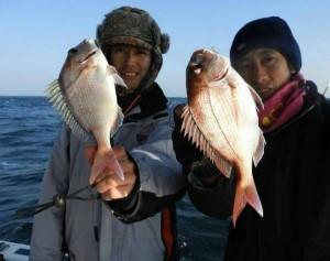 【フィッシャーマンドリームスDI】様より鯛サビキ情報!