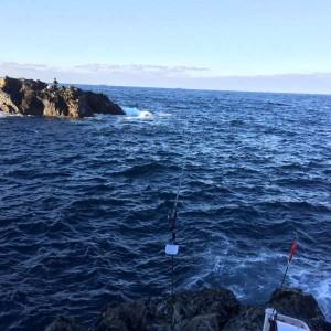 見老津に磯釣りに行ってきました(^O^)