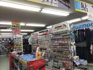 上野芝店鮎コーナー展開しました!