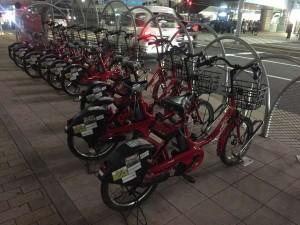 自転車でらくらく釣行♪ 北公園でメバルだ!