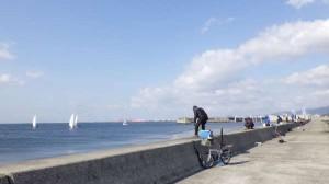 【春到来】ケーソンでポン級釣れました!!
