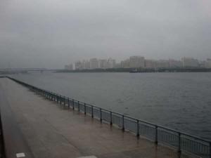 【雨風強し(;´Д`)】南芦屋浜リアルタイム