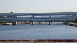 今朝の河川敷~丸島