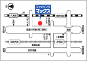 フィッシングマックス岸和田店 最寄りの駐車場