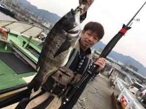 のっこみガンクロはじまってきてます! 3/6(月)神戸沖堤防釣果情報