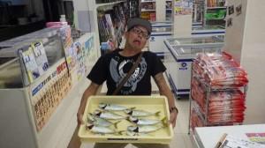 【貝塚人工島】ツバスの釣果を頂きました。