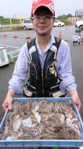 ムコイチ 昨日午前の釣果