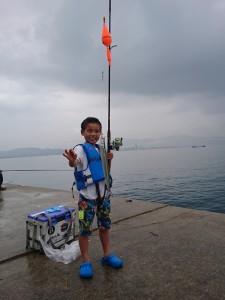 田ノ浦でサヨリ釣り!