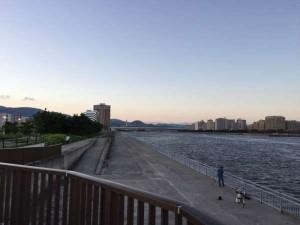【夕方の南芦屋浜】夏休みの思い出~♪