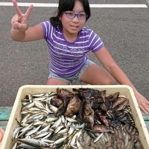 武庫川一文字の釣果です。