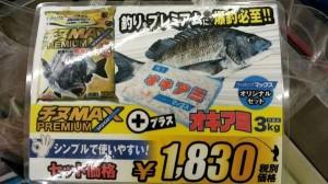 貝塚人工島水路でチヌフカセ!!