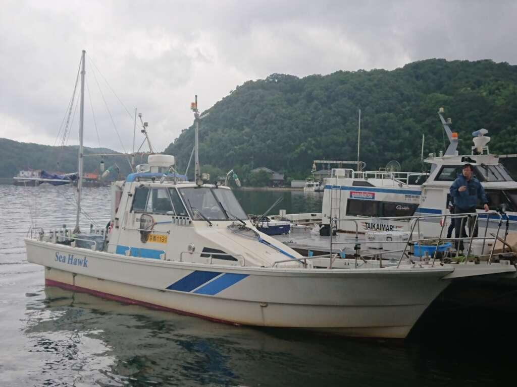 船 舞鶴 ジギング